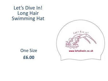 Picture of Long Hair Let's Dive In! Swiming Hat