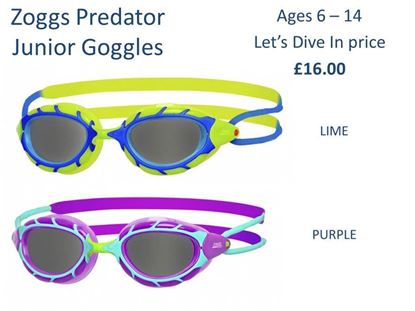 Picture of Zoggs Predator Junior Goggles