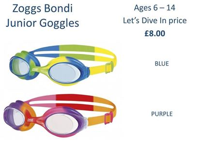 Picture of Zoggs Bondi Junior Goggles