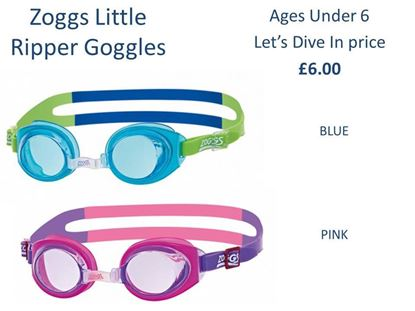 Picture of Zoggs Little Ripper Goggles