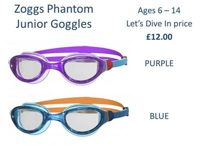 Picture of Zoggs Junior Phantom Goggles