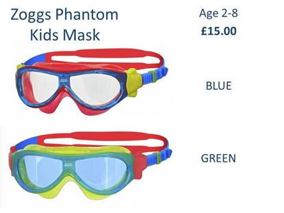 Picture of Zoggs Phantom Kids Mask